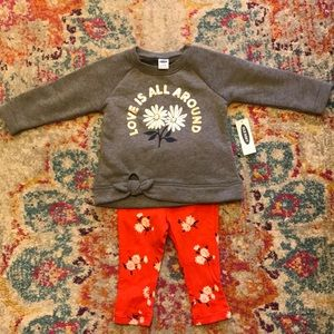 Old Navy NWT outfit 6-12M